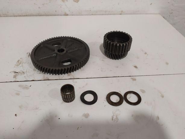 Koła sprzęgłowe sprzęgło przekładnia wstępna MZ TS 250 silnik MZ