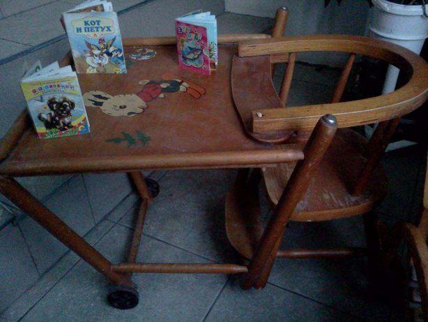 Ретро стол стул