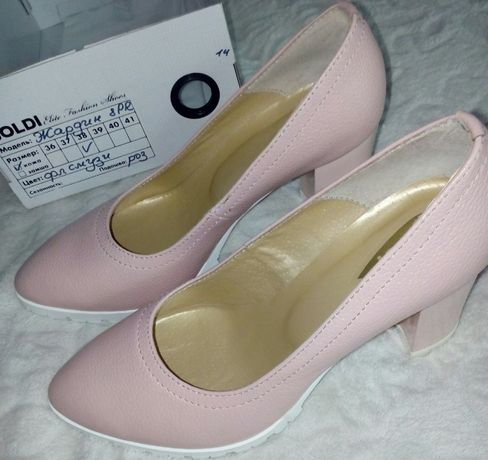 Цену снизила, срочно!Новые туфли 38размер, кожа