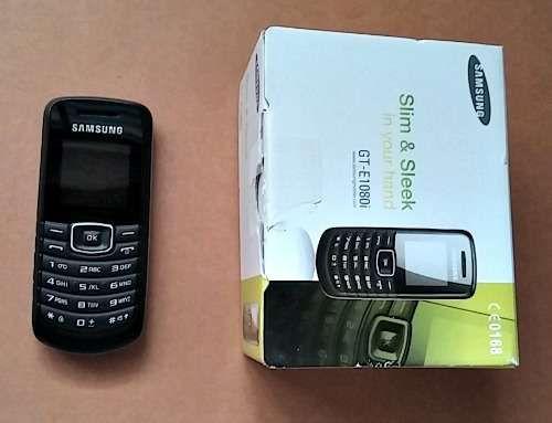 Telemovel Samsung GT-E1080i