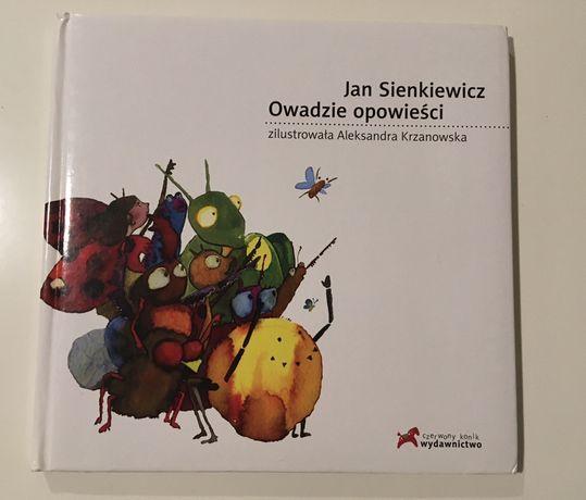 """Książka """"Owadzie opowieści"""" Jan Sienkiewicz wyd. Czerwony Konik"""