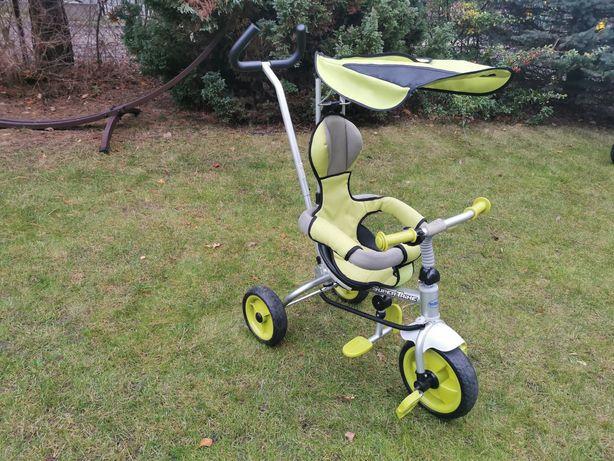 Rowerek trójkołowy Baby Mix Supertrike zielony