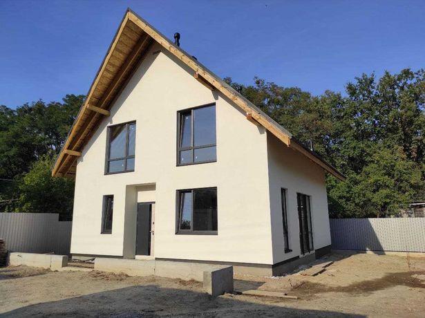 Новый дом в городе Вышгород. 130метров квадратных. Два этажа.