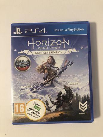 Horizon zero dawn PS4 диск