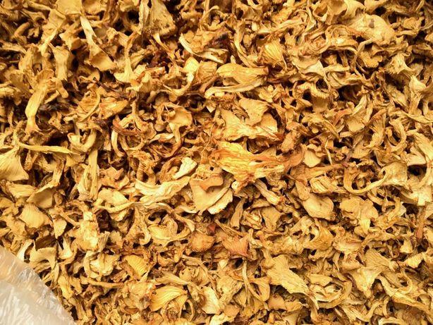 Сушеные грибы лисички с Карпат, НЕ ПОДДЕЛКА, лисички лечебные Киев