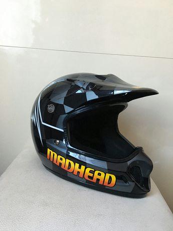 Мотошолом шлем Madhead 57-58 cm