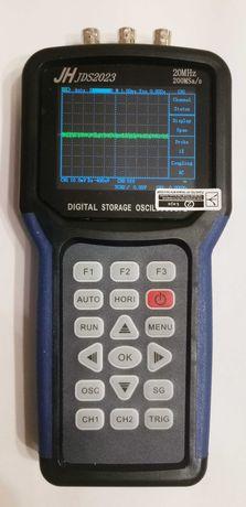 Портативный 2-х канальный осциллограф с генератором JDS2023 (20МГц)