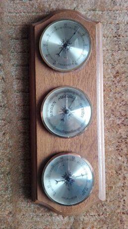 Termometr, barometr,higrometr w jednym - stary antyk