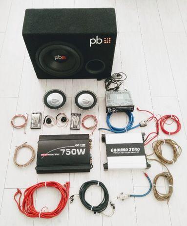 Sprzęt Car Audio zestaw