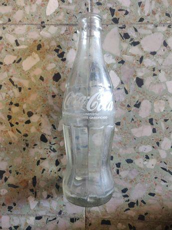 Garrafa pirogravada Coca-Cola