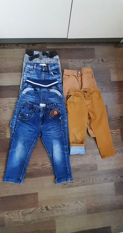 Джинсы штаны брюки на 1-2-3 года