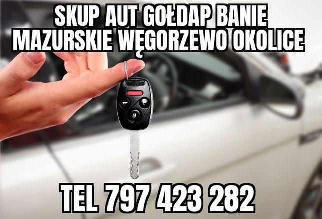 skup wszystkich aut Gołdap okolice dojezdzamy 7 dni w tygodniu