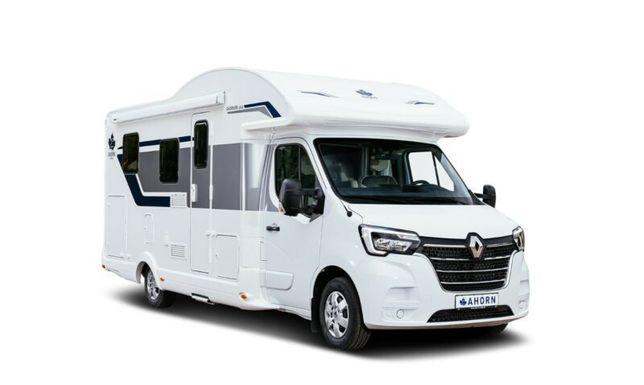 kamper AHORN CAMP T690 półintegra 2021 4os. Renault Master
