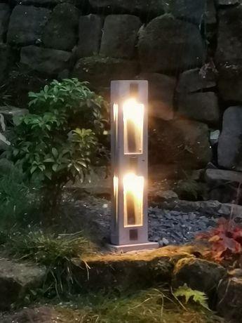 Lampa ogrodowa słupek