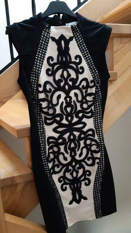 Sukienka Lou Monaco haftowana r.S