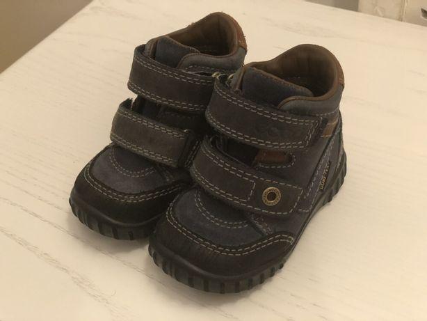 Демисезонные ботиночки Ecco на мальчика 19 размер