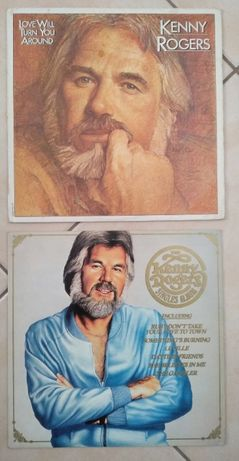 2 LPs do Kenny Rogers