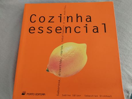 Livro cozinha essencial Porto editora