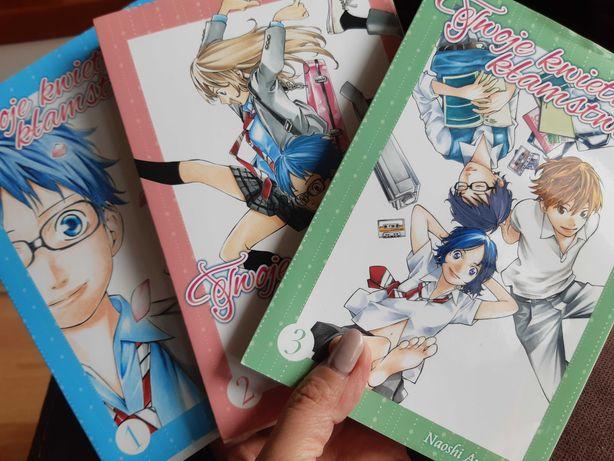 Manga Twoje kwietniowe kłamstwo