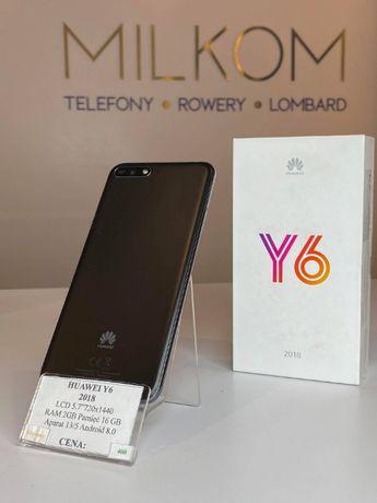Telefon Huawei Y6 2018. 16Gb Używany Dobry Stan Gwarancja Paragon