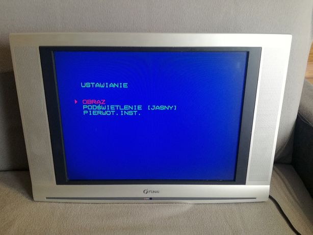 "Telewizor FUNAI LCD A2006 20"" TV (monitor monitoring kamery)"