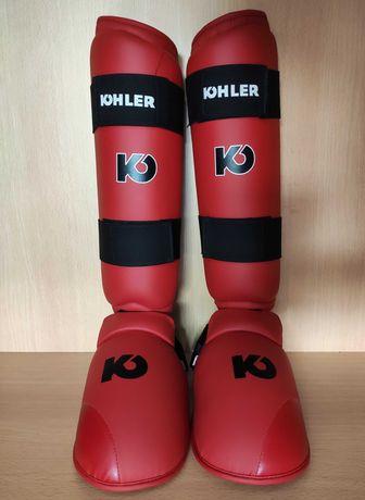 Caneleiras Kohler MMA/Kickboxe/Muay Thai/Karaté