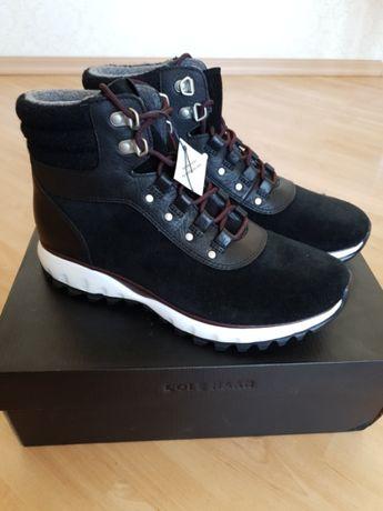 Продам ботинки Cole Haan Zerogrand Hiker Boot Black Suede W15275