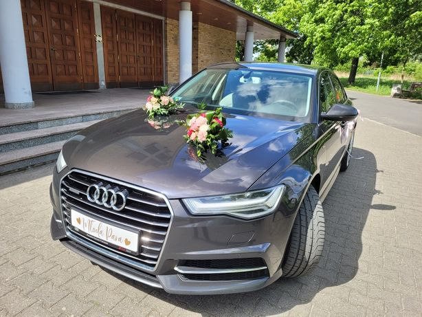 Piękne auto Audi A6 do Ślubu, wesela
