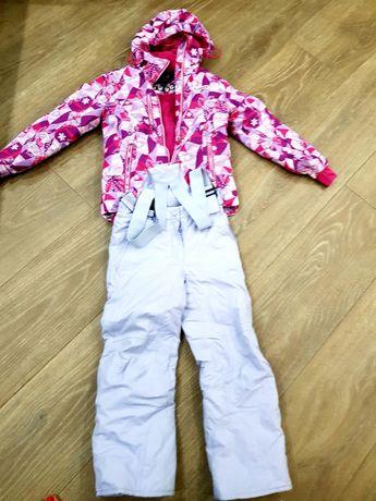 Лыжный костюм для девочки 8-10 лет