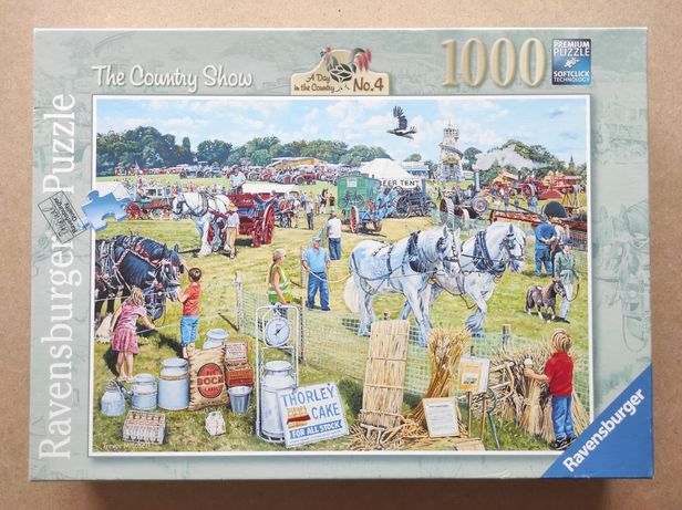 Puzzle 1000, Ravensburger, The Country Show