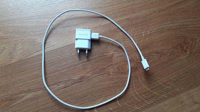 Oryginalna ładowarka Samsung ETA0U81EWE, 5V 1A + przewód micro USB