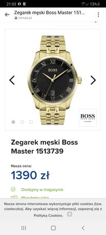 Sprzedam zegarek boss