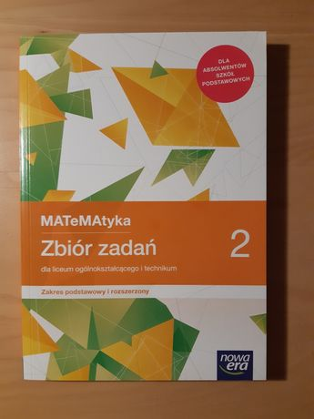 Zbiór zadań z matematyki 2 NOWA ERA