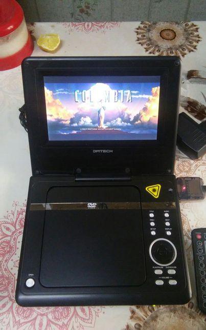 LCD DVD проигрыватель DMTECH