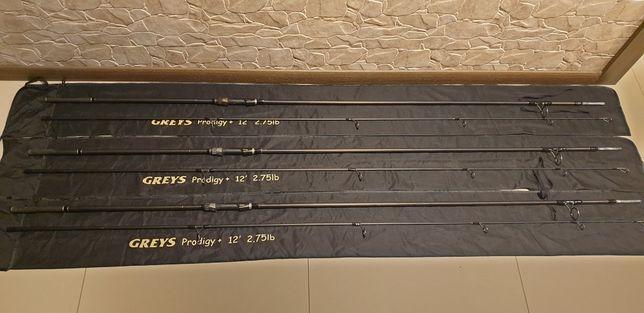 3 X Greys Prodigy 12ft 2.75lb