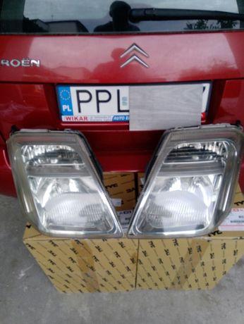 Refrektory  przednie do   Citroënc2