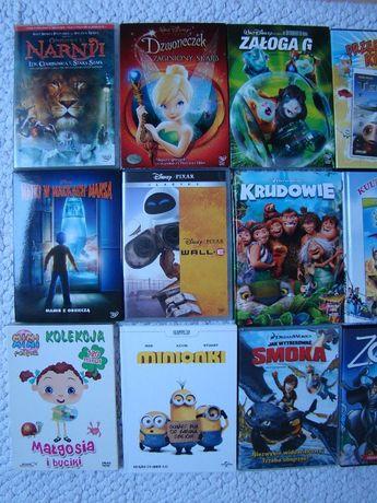 Płyty DVD filmy bajki Dzwoneczek Shrek Krudowie DISNEY PIXAR
