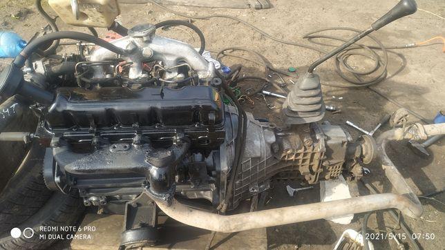 Двигатель Форд Транзит 2.5 D полный комплект для Газели