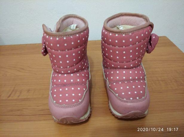 Зимові чобітки 26 розмір