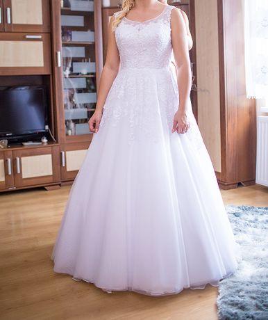 suknia ślubna r. M