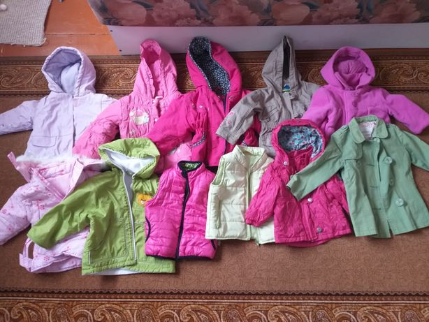Куртки для девочек