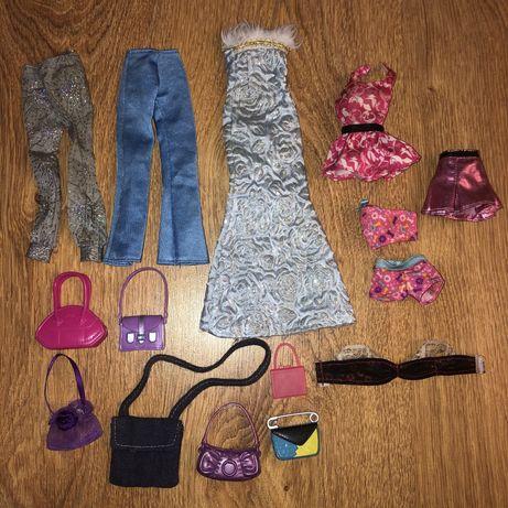 Ubrania akcesoria torebki dla lalek typu barbie