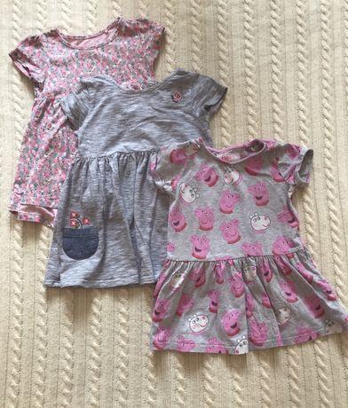 Набор платья летние NEXT Некст, р-р 1-2,5 года