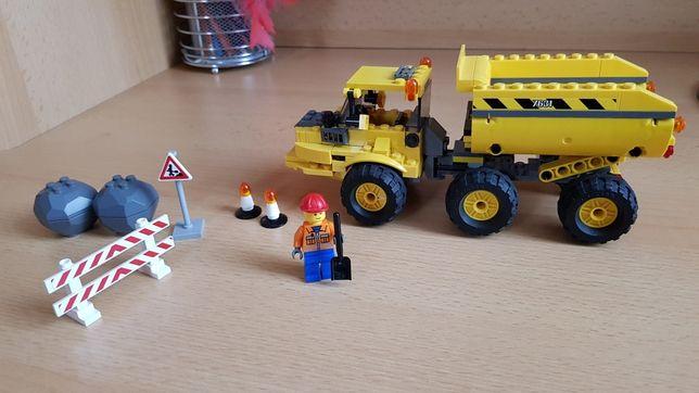 Lego City 7631 ciężarówka budowlana 100% klocków