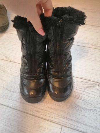 Зимние ботинки для девочки 33 размер фирмы бартек