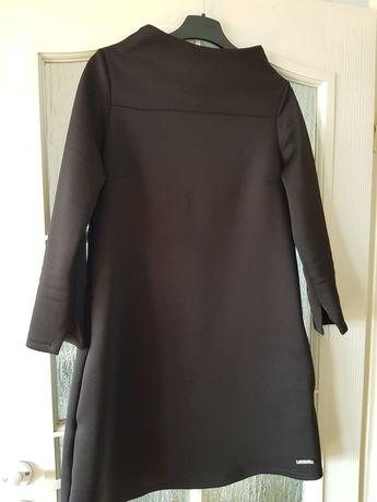 Sukienka czarna trapezowa L