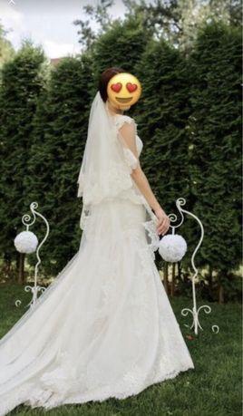 Итальянское свадебное платье (рыбка)