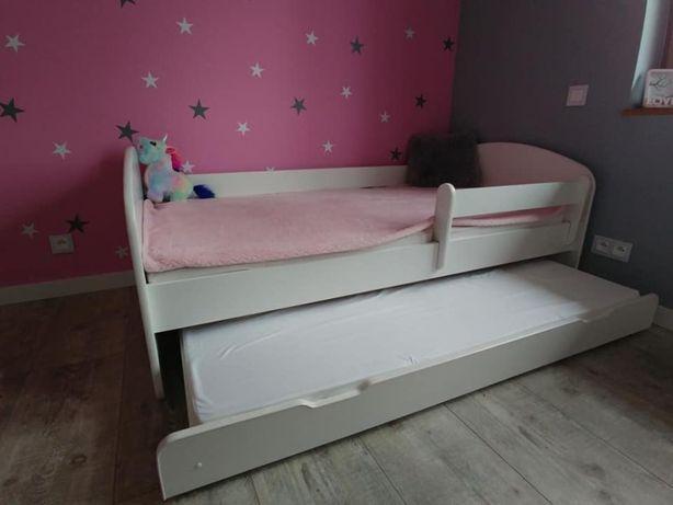 Łóżko podwójne 200/90 piętrowe wysuwane dla dzieci