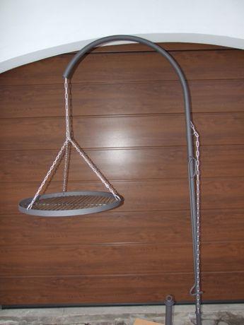 Ruszt - ramię nad palenisko, ognisko 60 cm grill łańcuch