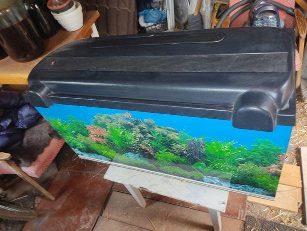 Продам аквариум 200 литров с крышкой